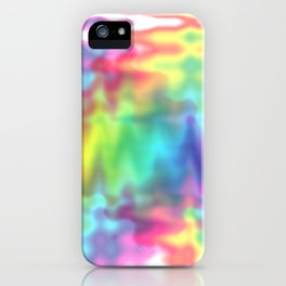I Bleed Rainbows and Glitter iPhone Case
