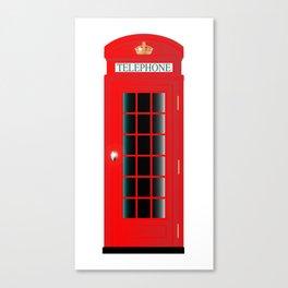 UK Telephone Box Canvas Print