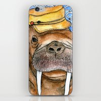 kevin russ iPhone & iPod Skins featuring Russ by Amy Nickerson