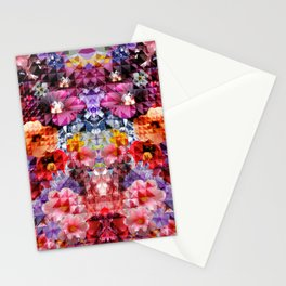 Crystal Floral Stationery Cards
