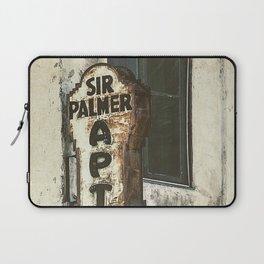 Sir Palmer Apts. Vintage Sign, Echo Park Laptop Sleeve