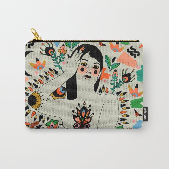 Seduction of Summer Carry-All Pouch