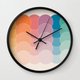 Boca Dots Wall Clock