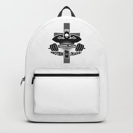 Arnold Schwarzenjesus Backpack
