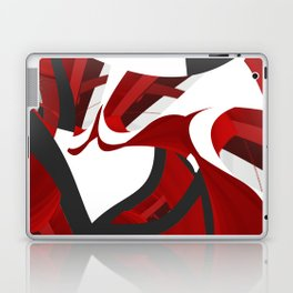 A red opening Laptop & iPad Skin