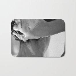 Woman Showering, 35mm Film, B&W Bath Mat