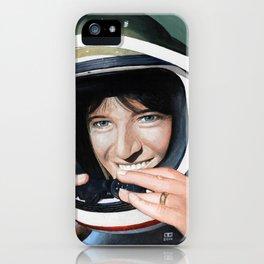 Sally Ride iPhone Case