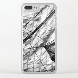 Museum 11 Clear iPhone Case