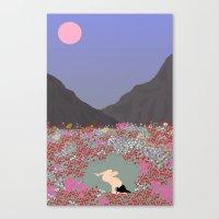 tulips Canvas Prints featuring Tulips by Miranda Lorikeet