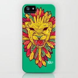Dear Lion iPhone Case