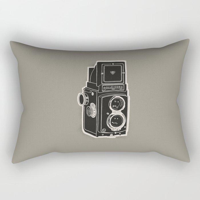 Rolleicord Rectangular Pillow