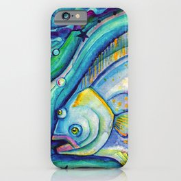 Halibut Dreaming iPhone Case