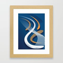 Koi 8 Framed Art Print