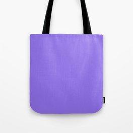 Solid Pale Crocus Purple Color Tote Bag