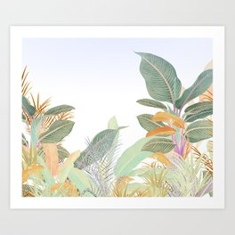 Native Jungle Art Print