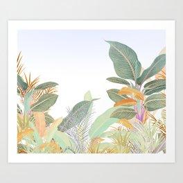 Native Jungle Art Print