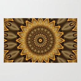 Mandala Goldflower Rug