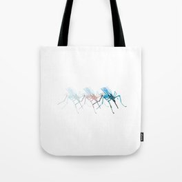 Mosquitoes / Abstract animal portrait. Tote Bag
