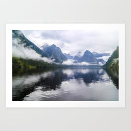 Mesmerizing Reflections Art Print