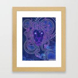 Liondusa Framed Art Print