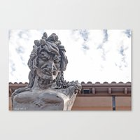 mythology Canvas Prints featuring Mythology by lensebender