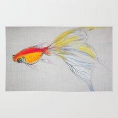 Goldfish Pond (close up#1) Rug