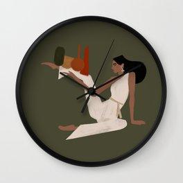 Multi tasking Wall Clock