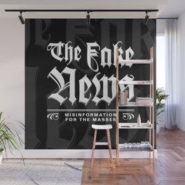 The Fake News Header Wall Mural
