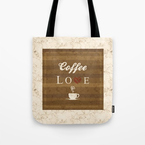 Love Coffee Tote Bag