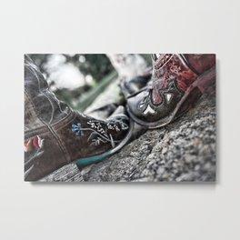 Boot Scoot Metal Print