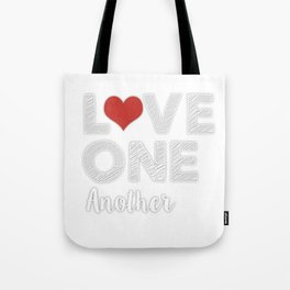 Love One Another Tote Bag