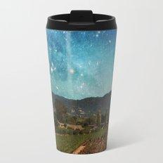 Starlit Vineyard II Travel Mug