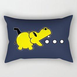 Waka Waka Hippos Rectangular Pillow