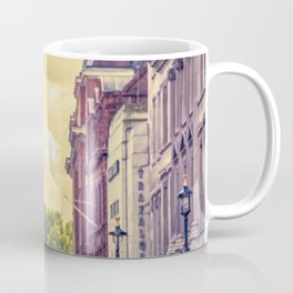 View of the Charles I statue and the Big Ben - London Coffee Mug