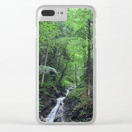 Füssen Waterfall Clear iPhone Case