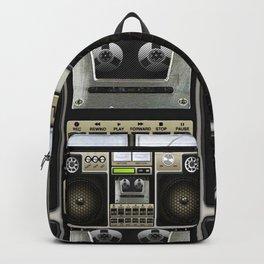 Retro Mix Boombox Backpack