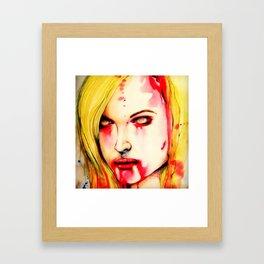 You, it's what's for dinner! Framed Art Print
