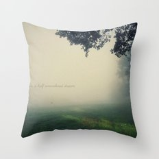 in a half remembered dream Throw Pillow