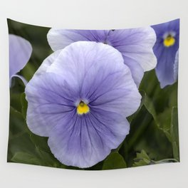Pansy Mauve Wall Tapestry
