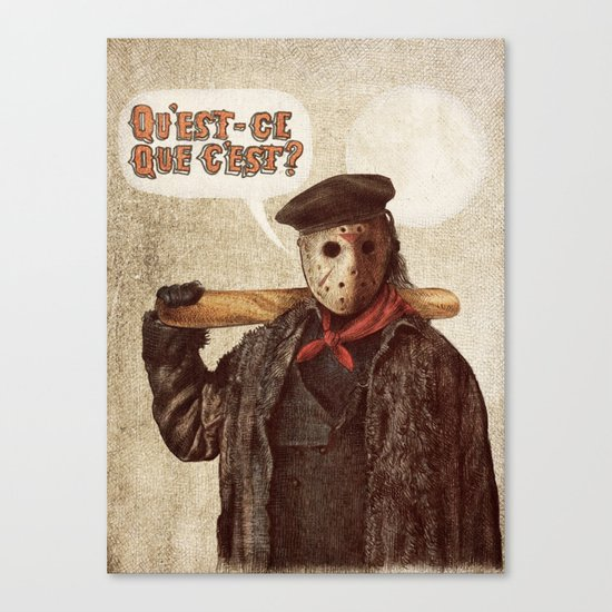 Psycho Killer Canvas Print