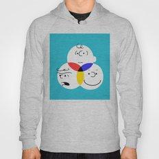 Charlie Brown, colour wheel Hoody