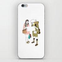 moonrise kingdom iPhone & iPod Skins featuring moonrise kingdom by joshuahillustration