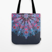 stickers Tote Bags featuring Escapism  by micklyn