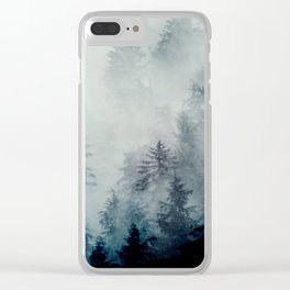 The hollows in fall Clear iPhone Case