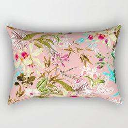 Gardenia #pattern #botanical Rectangular Pillow