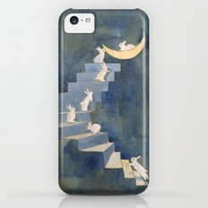 Stairway to the moon iPhone 5c Slim Case