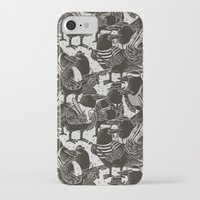 dramatical murder iPhone & iPod Cases featuring Murder Weapons by Alex Solis