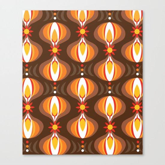 Oohladrop Brown Canvas Print