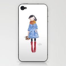 Chunky Cowl iPhone & iPod Skin