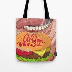 Fastfood illustration  Tote Bag
